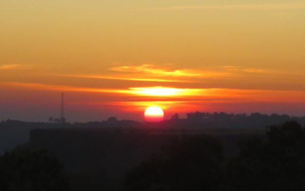 Sunrise point in Panchgani