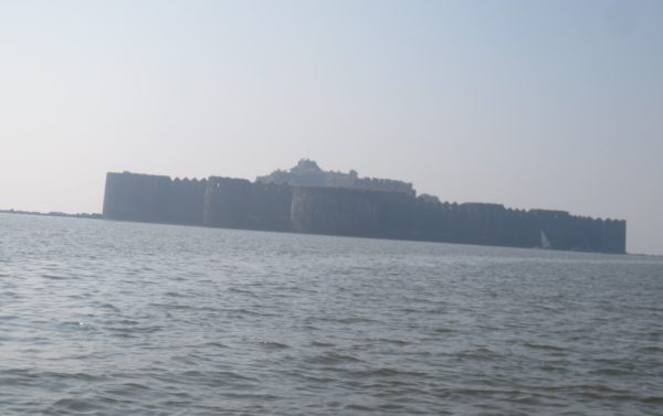 A view of Fort Janjira from a distance